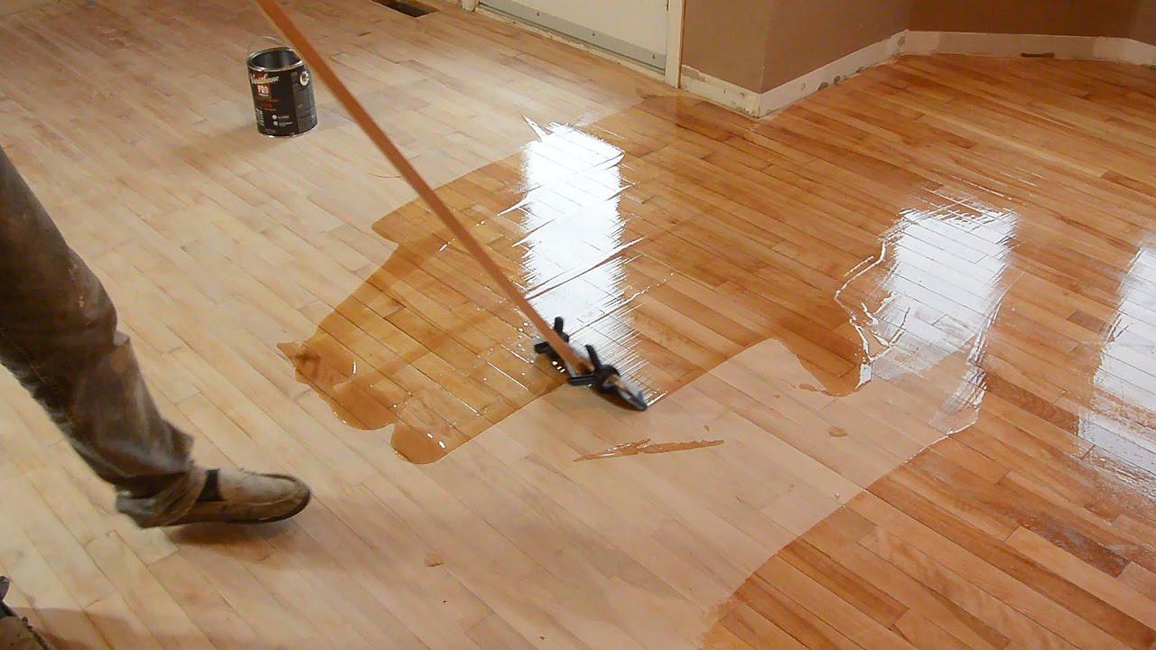 top quality of wood floor refinishing